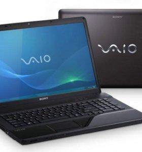 Пушечный игровой ноутбук Sony Vaio 4 ядра