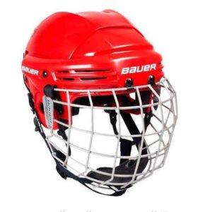 Хоккейный шлем с маской Bauer