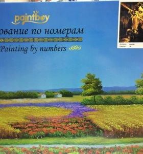 Картины-раскраски по номерам