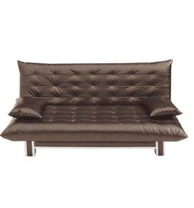 Диван-кровать Поло Стайл экокожа sunny grey