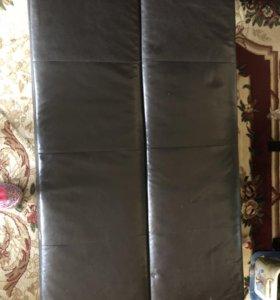 Диван -раскладушка(кожаный)