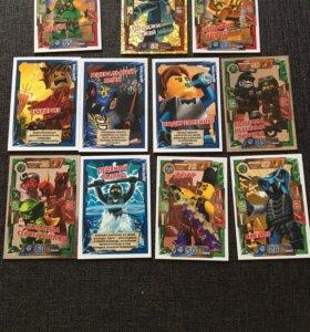 Коллекционные карточки ( Лего ниндзяго)
