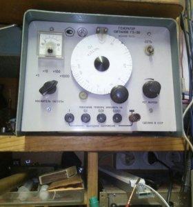 Генератор звуковой частоты Г3-36