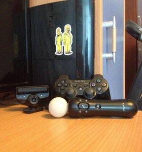 PS3 super slim 500 гб