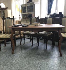 Комплект столь и стулья