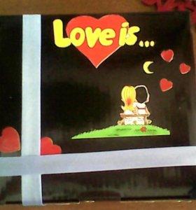 Подарочная коробочка к 14 февраля