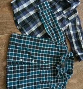 Рубашки 74-80 и 80-86