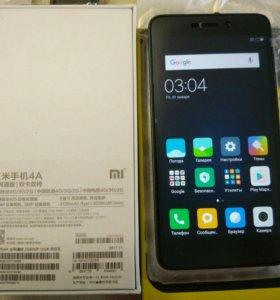 Xiaomi Redmi 4a + подарки чехол/стекло