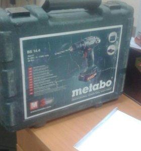 Шуруповерт Metabo sc 60+