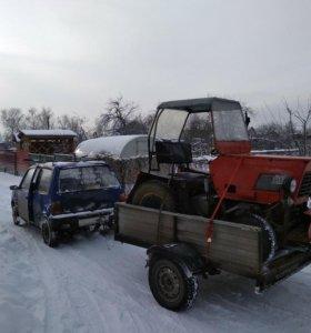 Трактор самодельный