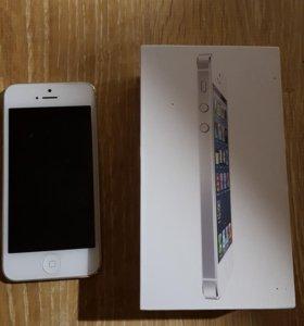 Iphone 5 32gb в отличном состоянии