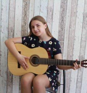 Обучение игре на гитаре для детей 8-18 лет