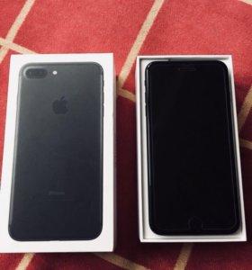 iPhone 7 Plus 128 gb идеальн сост, полный комплект