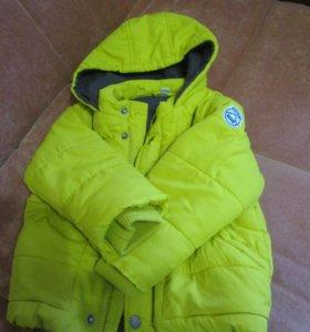 куртка демисезонная на мальчика р-р 92