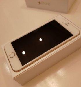 iPhone 6 16 Gb Gold в оригинальной комплектации