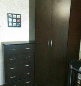 Угловой шкаф с комодом