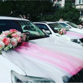 Свадебные украшения на авто (N.1\1)
