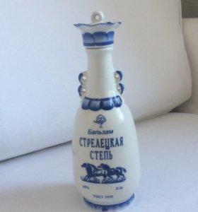 Бутылка гжель