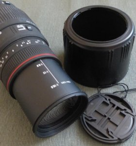 Sigma AF 70−300mm f/4−5.6 APO Macro DG Canon EF