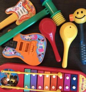 Музыкальные инструменты!