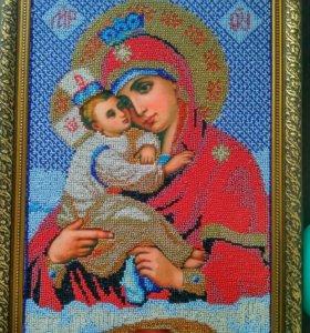 Икона Почаевской божьей матери