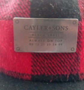 Кепка, Snap back, Cayler and Sons.