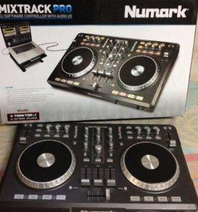 Контроллер dj numark mix track pro
