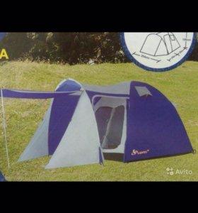 Пятиместная, новая, кемпинговая палатка
