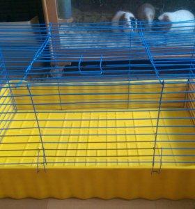 Клетка для кролика, морских свинок и др.