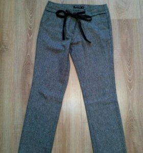 Женские теплые брюки. 44 размер.