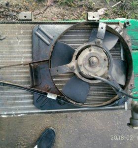 Радиатор, генератор на ваз 2107