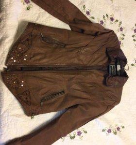 Куртка замша размер s