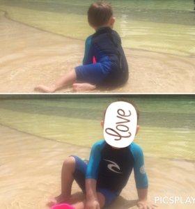 Детский костюм для защиты от солнца и для плавания
