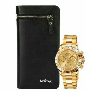 Часы Rolex+портмоне baellery