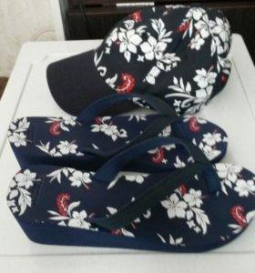 Сланцы и кепка Ostin