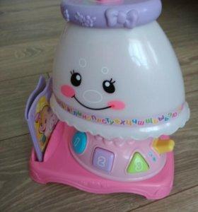 Интерактивная развивающая игрушка. Обучающая лампа
