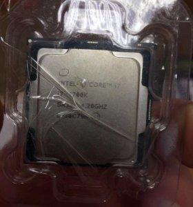 Процессор i7 - 7700k (новый, не б/у)