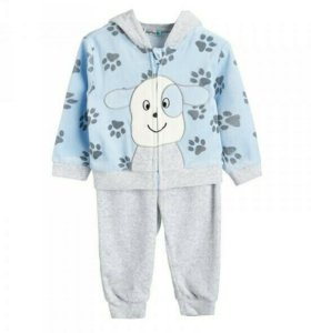 Комплект BabyGo толстовка и брюки р74