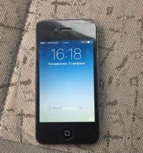 Продам айфон 4s-8G