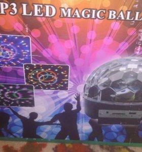 MP3 LED Magic Ball Light