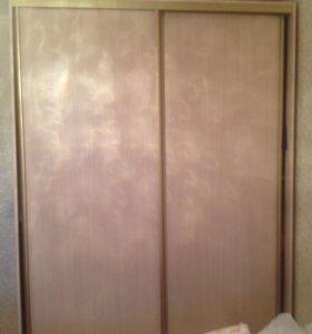Шкаф-купэ 2/х дверный