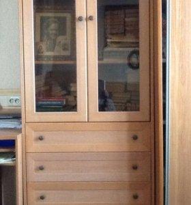 2 шкафа для книг, одежды и посуды
