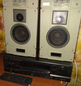 Technics av control stereo receiver SA-GX370