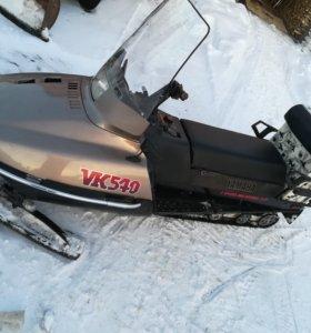 Снегоход с новым 4 тактным двигателем