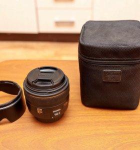 Объектив SIGMA 30mm. f/1.4