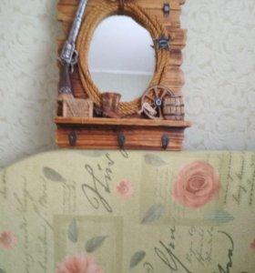 Зеркало новое подарочное
