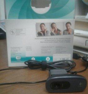 Веб-камера Logitech на ПК/Телевизор