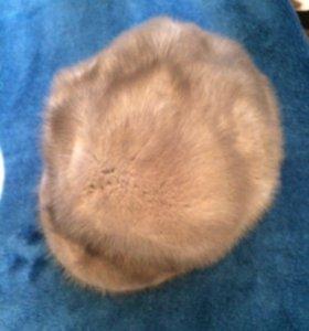 Зимняя женская шапка из норки