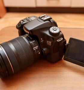 Фотоаппарат Canon 70D BODY (KIT)