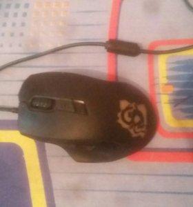 Игровая мышка на запчасти